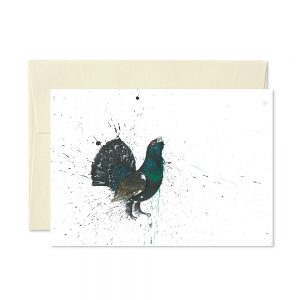 Capercaillie Greetings Card