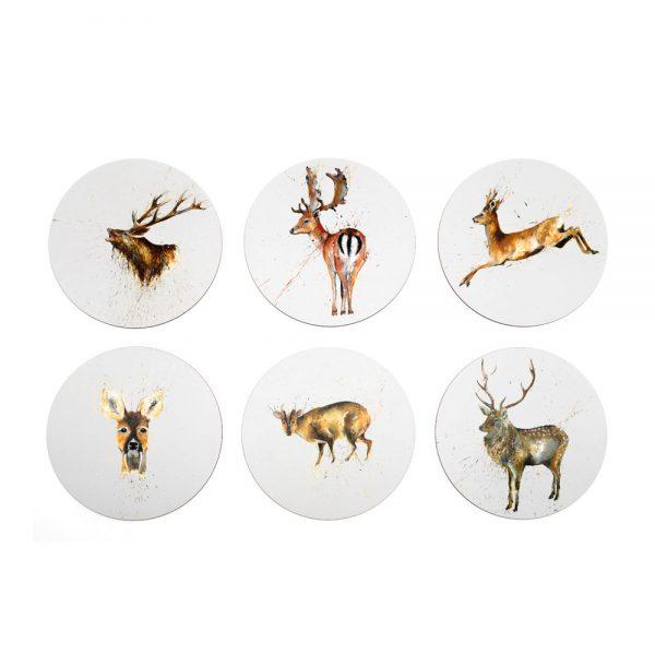 Deer Placemats Set Of 6