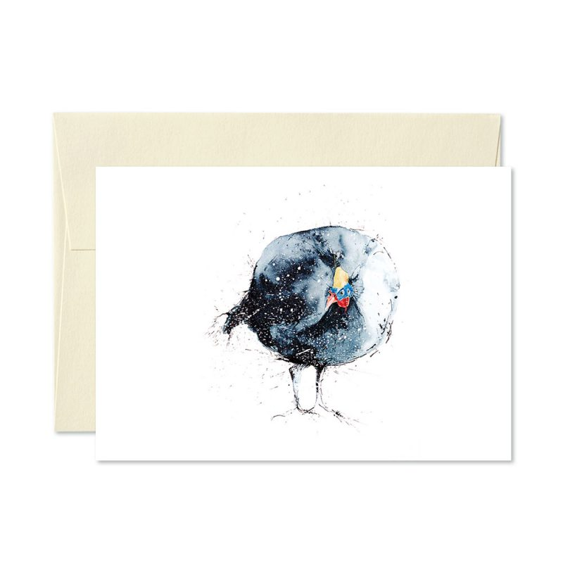 Guinea Fowl Greetings Card