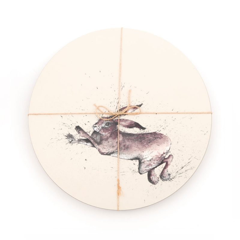 Hare Placemats Set Of 6
