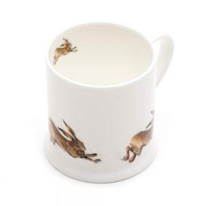 Leaping Hare Mini Mug