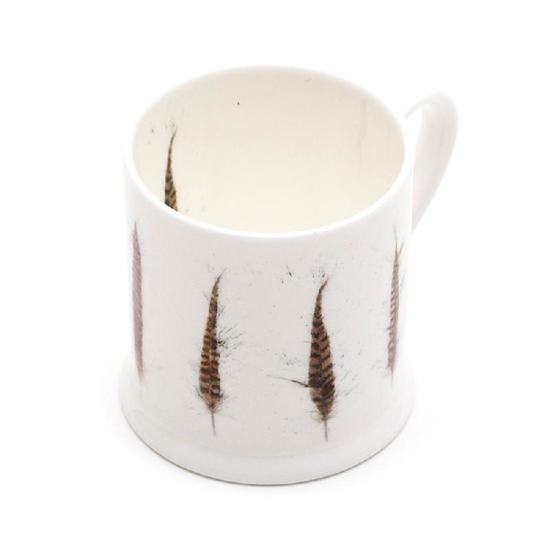 Pheasant Feather Mini Mug