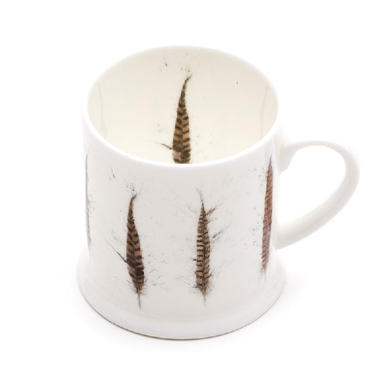 Pheasant Feather Mini Mug