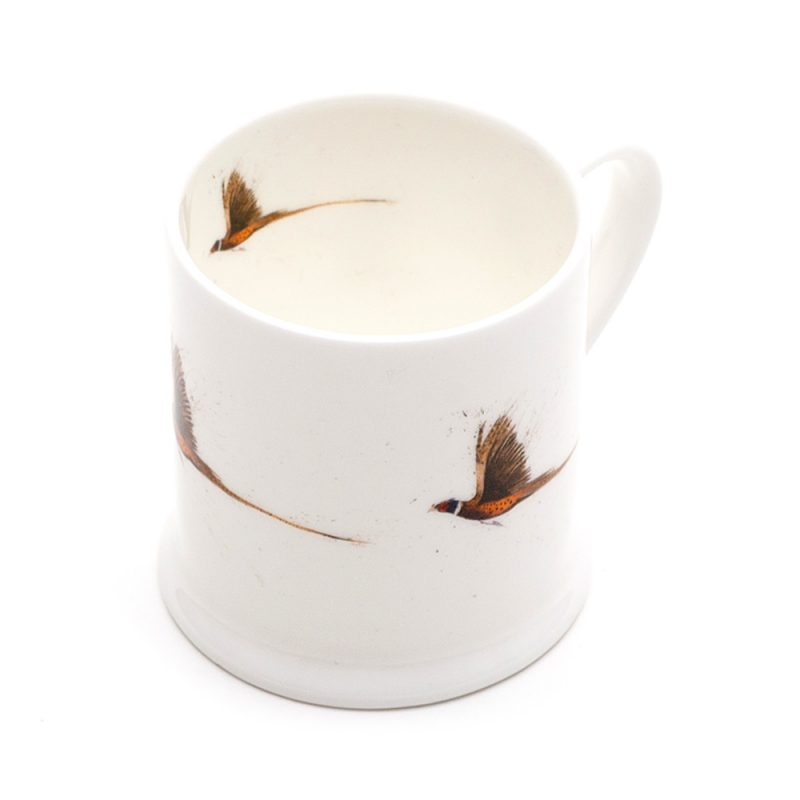 Pheasant Flying Mini Mug