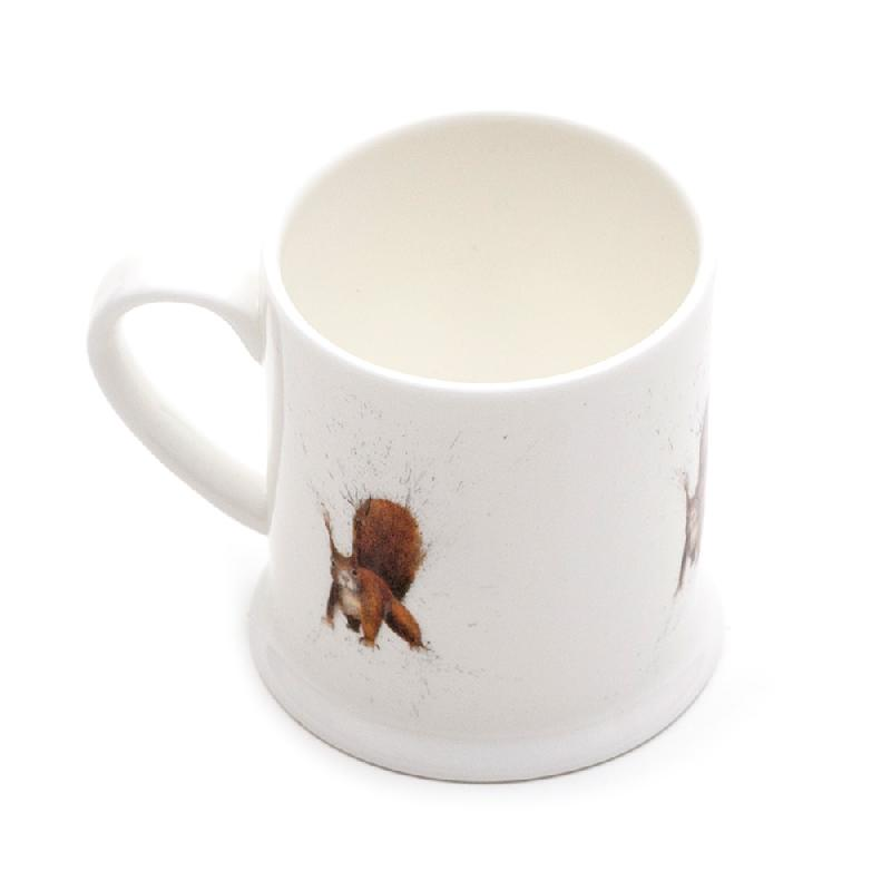 Red Squirrel Mini Mug