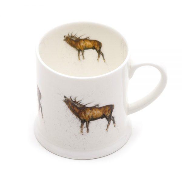 Stag Roaring Mini Mug