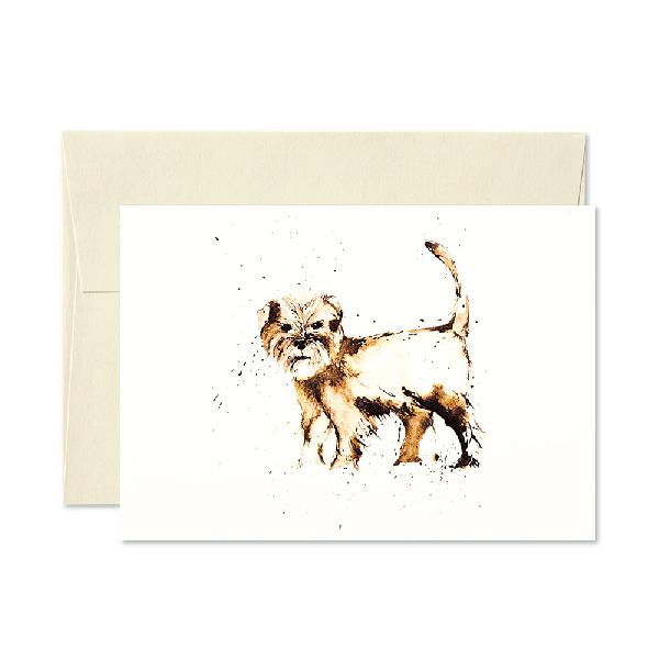 Terrier Greetings Card