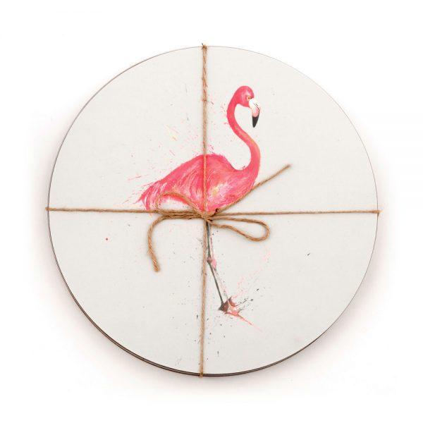 Tropical Birds Placemats Set Of 6