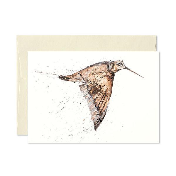 Woodcock Greetings Card