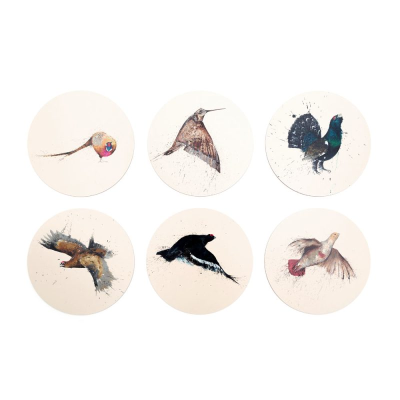 Game Birds Placemats set of 6