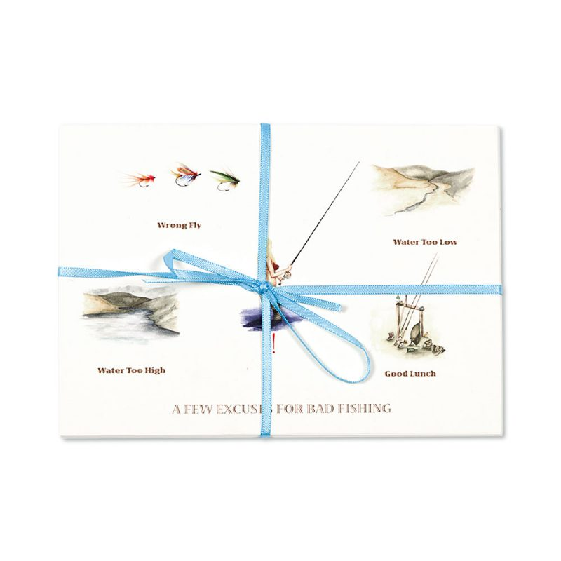 A Few Excuses For Bad Fishing Post Cards | Pack Of 10