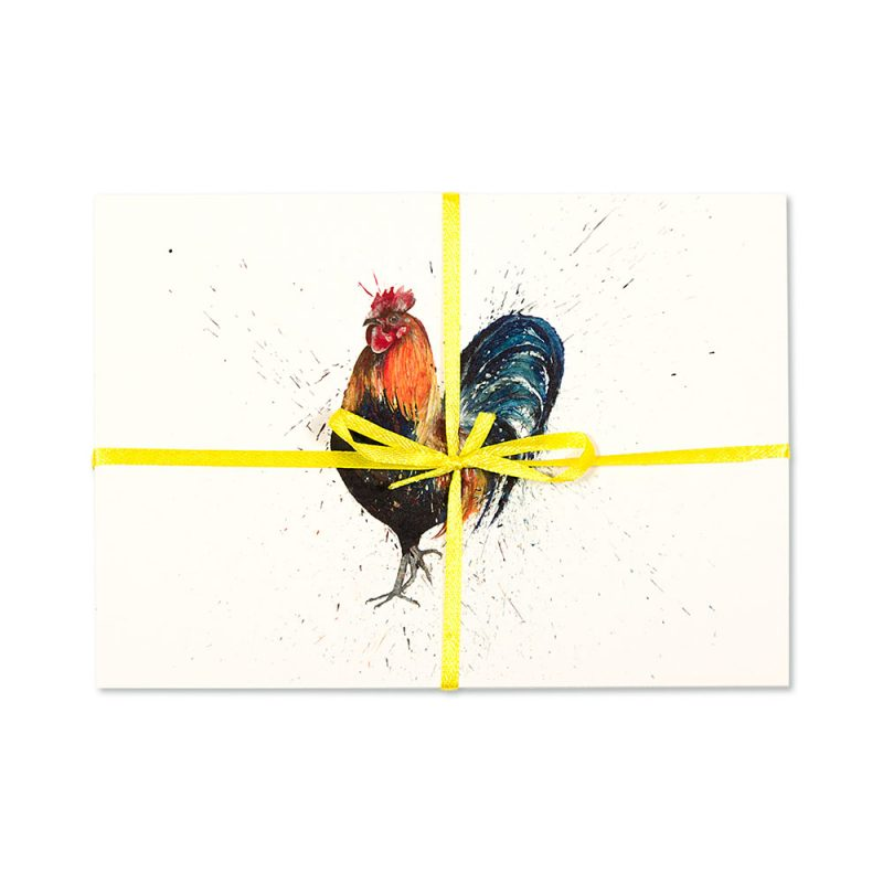 Cockerel Post Cards   Pack Of 10