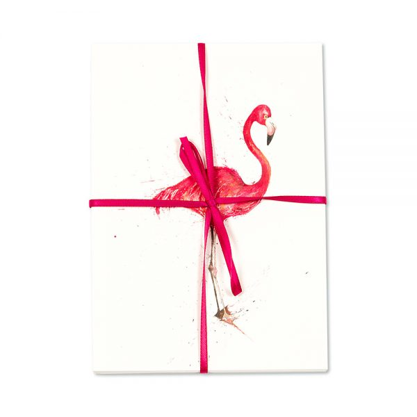 Flamingo Standing Post Cards | Pack Of 10