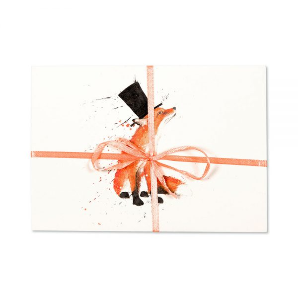 Fox In A Top Hat Post Cards | Pack Of 10