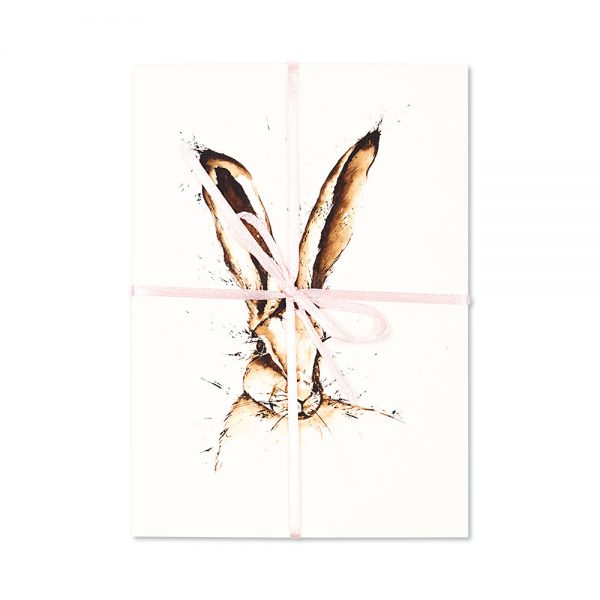 Hare Head Post Cards | Pack Of 10