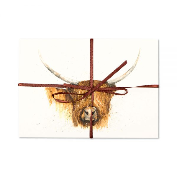 Highland Cow Post Cards | Pack Of 10