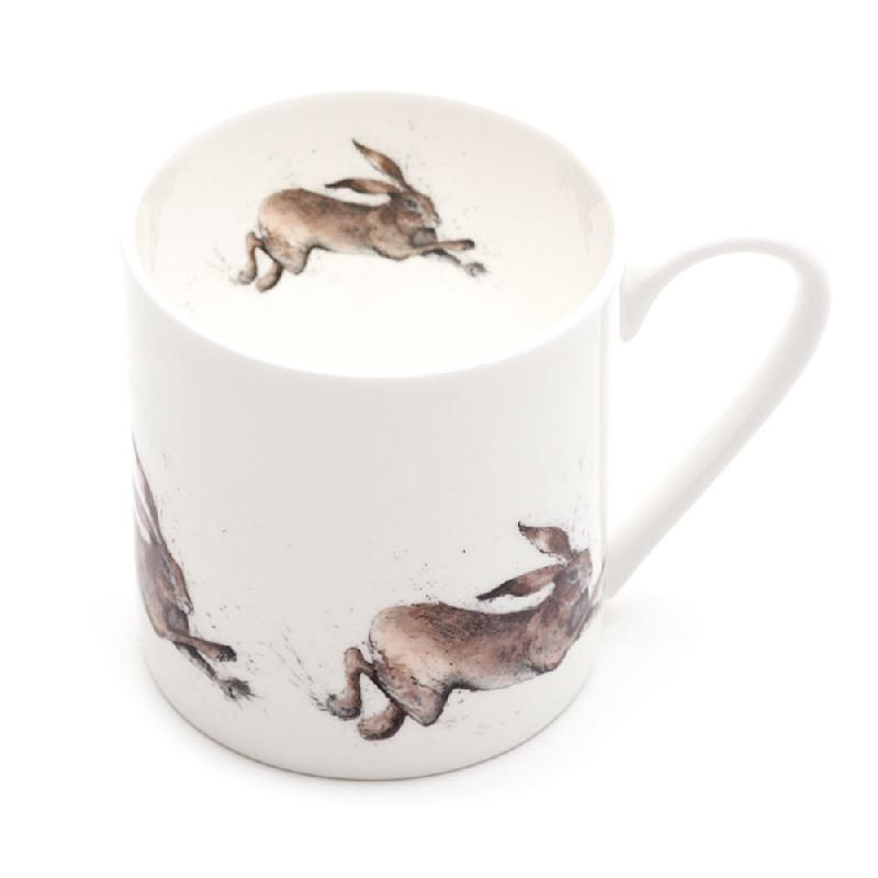 Leaping Hare Mega Mug