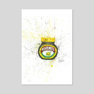 Marmite Limted Edition Print A4