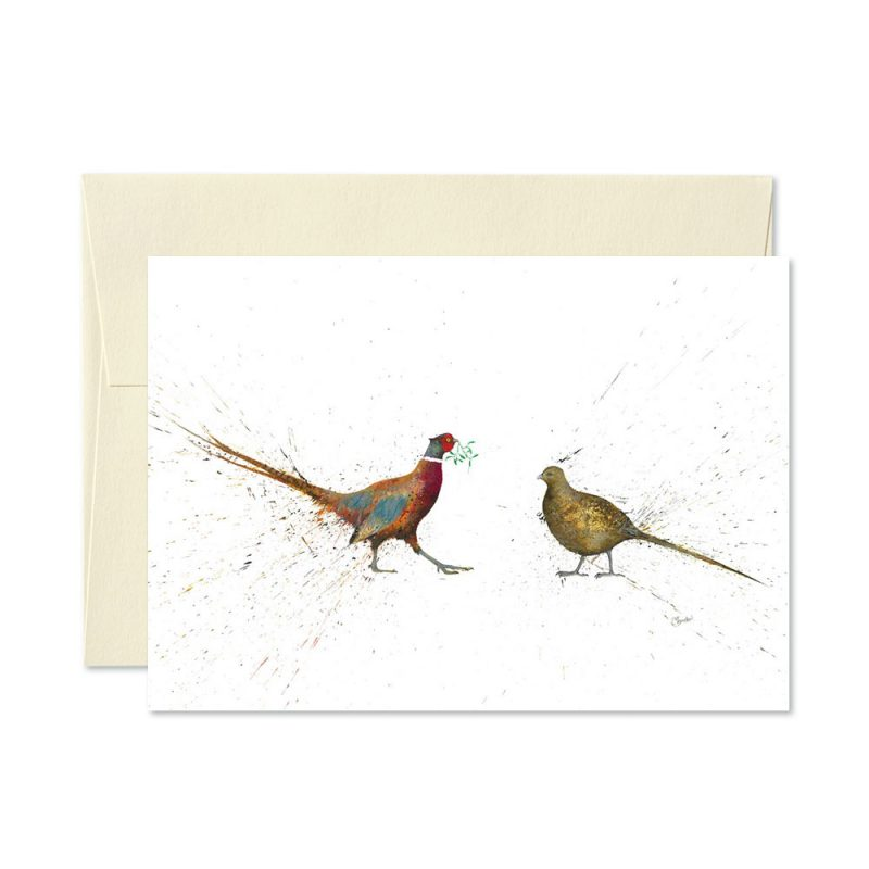 Mr And Mrs Christmas Cards | Pack Of 5