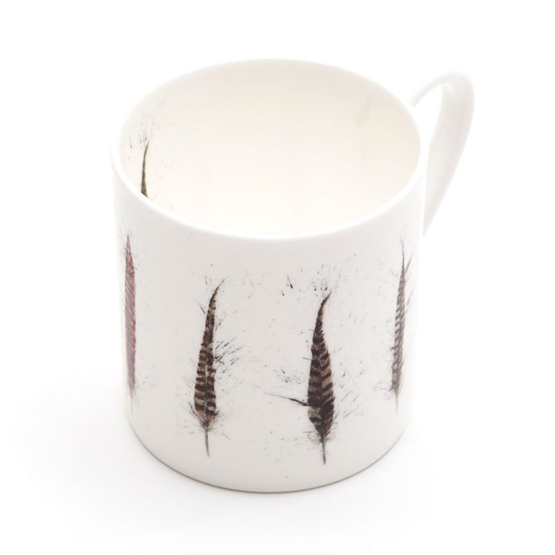 Pheasant Feather Mega Mug