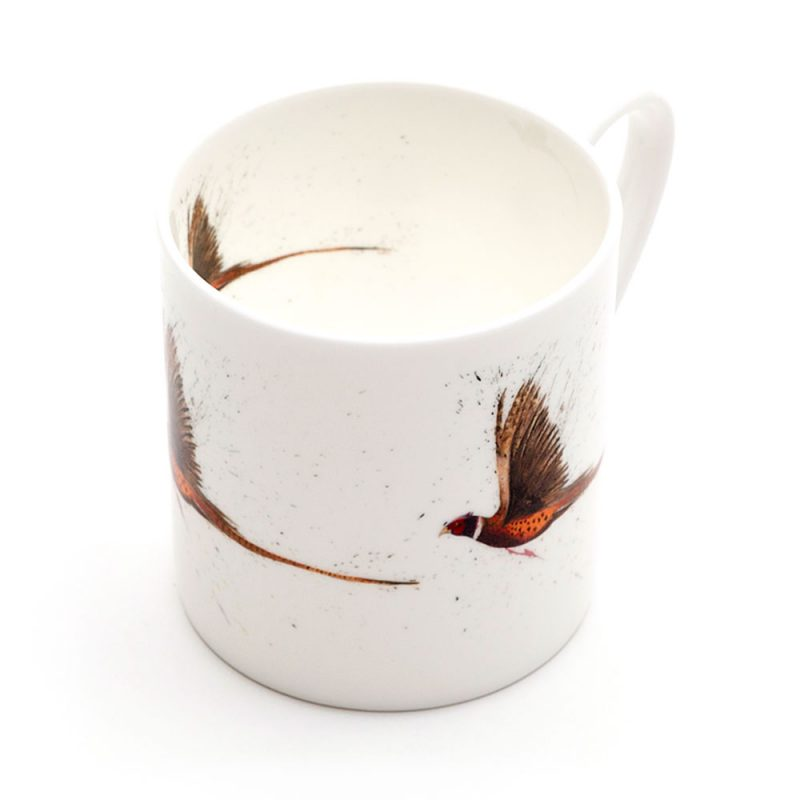 Pheasant Flying Mega Mug