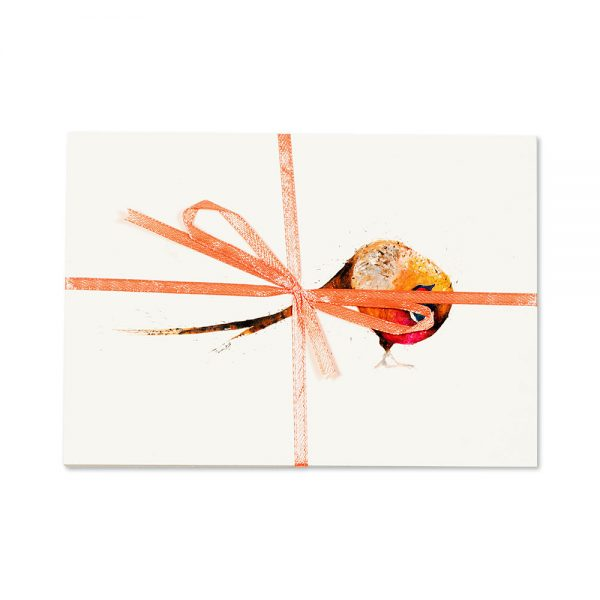 Pheasant Turning Post Cards | Pack Of 10