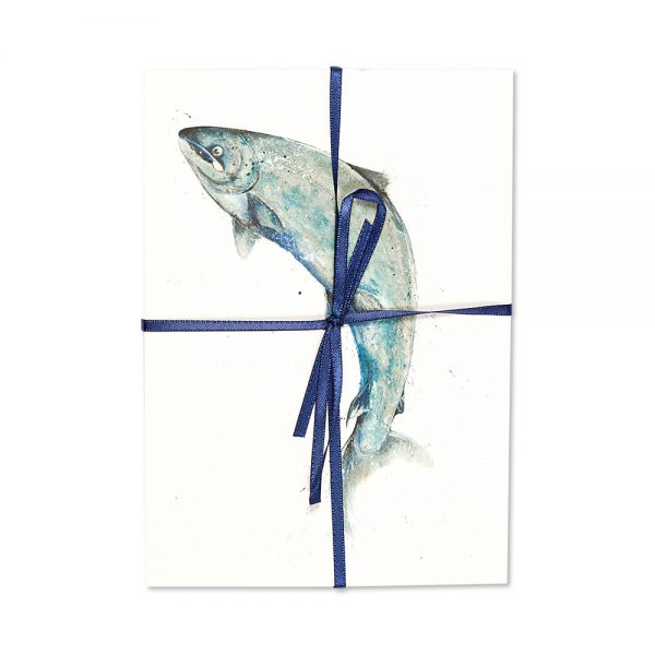 Salmon Leaping Post Cards | Pack Of 10