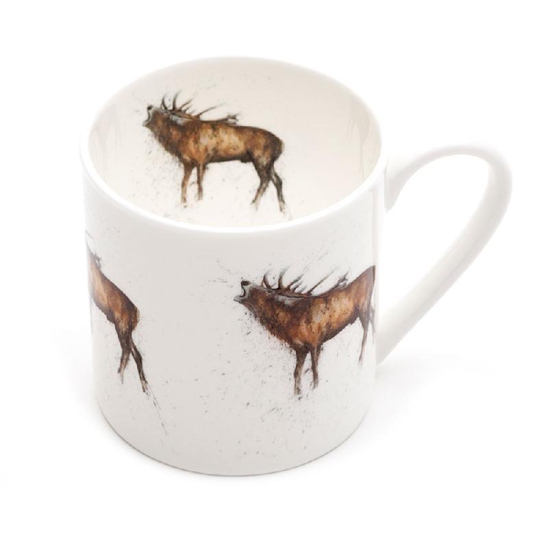 Stag Roaring Mega Mug