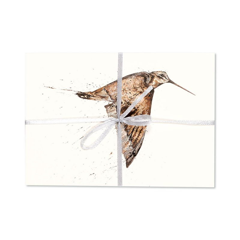Woodcock Post Cards   Pack Of 10