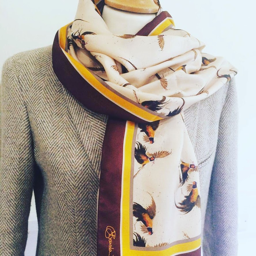 Really Wild Clothing Original Pheasant Scarf